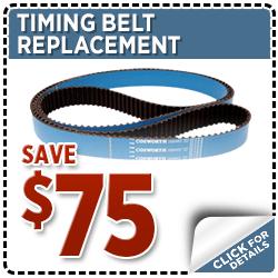 Subaru Timing Belt Replacement Service Special Discount Coupon at Hanson Subaru in Olympia