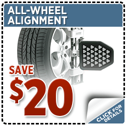 Subaru All-Wheel Alignment Service Special Discount Coupon at Hanson Subaru in Olympia