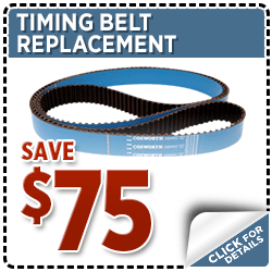 Subaru Timing Belt Replacement Service Special Discount Coupon at Hanson Subaru in Olympia