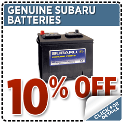 Subaru Batteries Parts Special Serving Tenino, WA