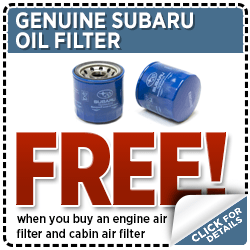 Subaru Oil Filter Parts Special Serving Hawks Prairie, WA