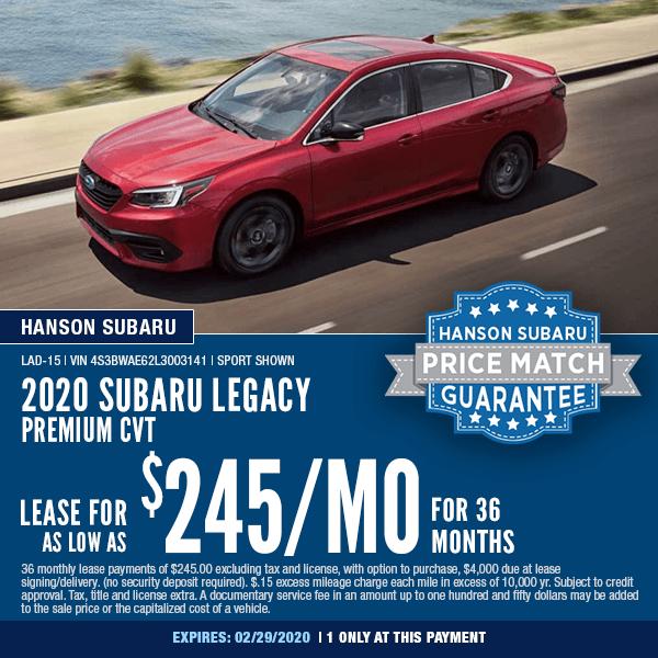 New Subaru Specials In Olympia Wa
