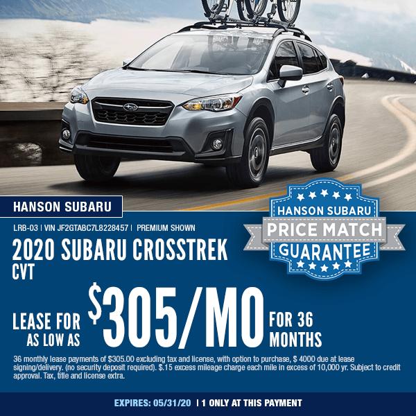 New Subaru Crosstrek Purchase Lease Incentives In Olympia Wa