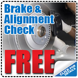 Dallas Volkswagen Free Brake and Alignment Check Service Discount Coupon serving Texas
