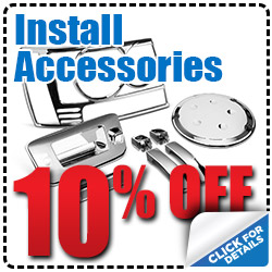 Hiley Volkswagen Install Accessories Special Discount serving Dallas, Texas