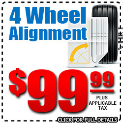 Hiley Volkswagen 4 Wheel Alignment Service Special Discount Coupon serving Dallas, Texas
