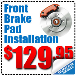 Hiley Volkswagen Front Brake Pad Alignment Service Special Discount Coupon serving Dallas, Texas