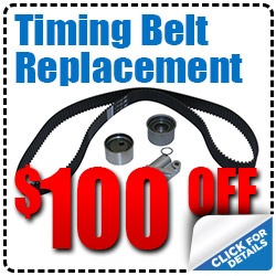 Hiley Volkswagen Timing Belt Replacement Service Special Discount Coupon serving Dallas, Texas