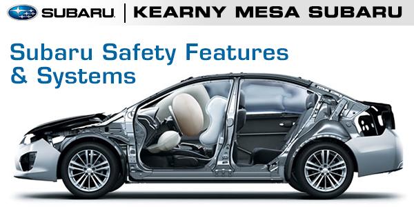 Subaru Safety Systems Features Information Kearny Mesa Subaru