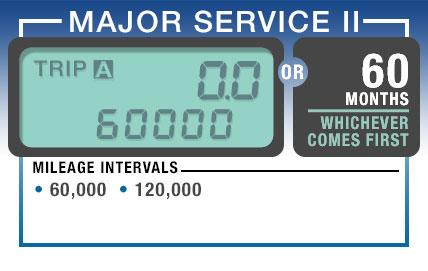 60000 mile service subaru