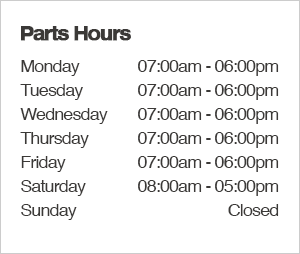 Kearny Mesa Subaru Parts Department Hours