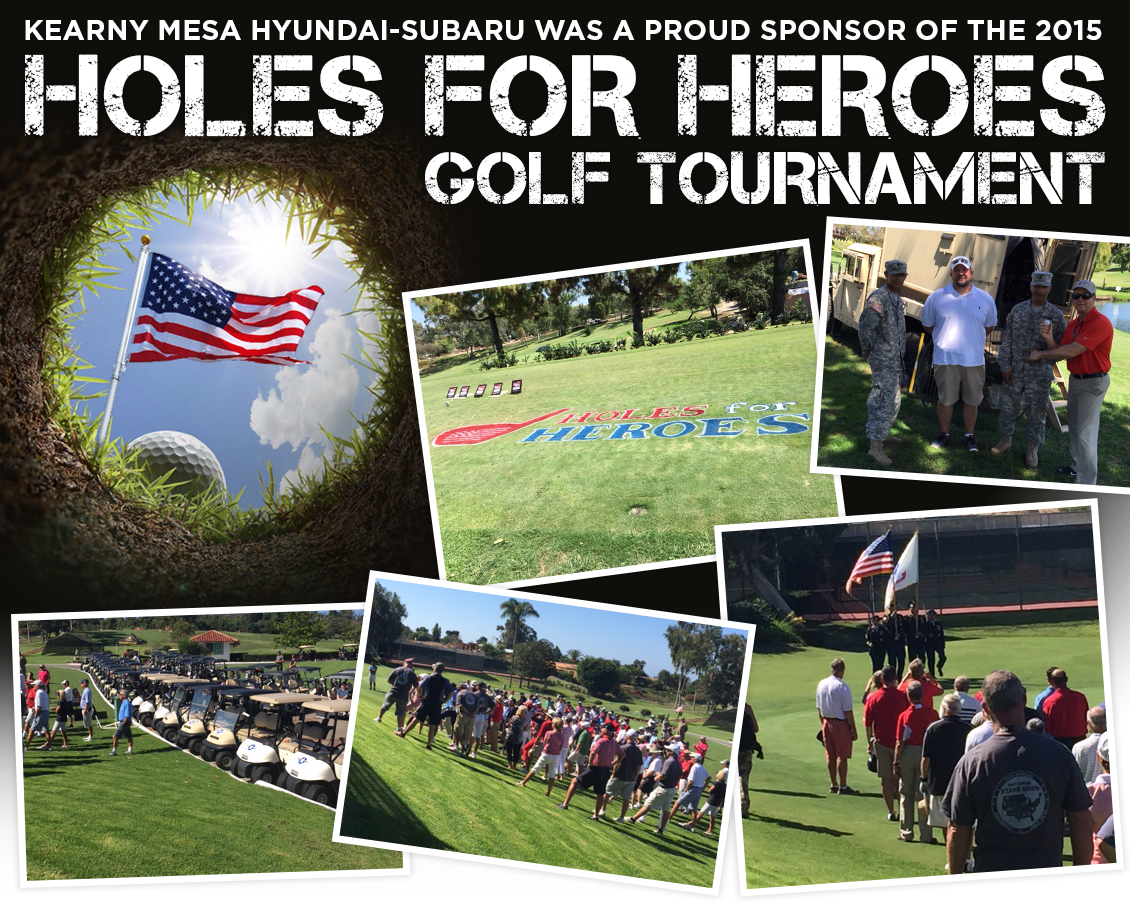 Support Holes for Heroes at Kearny Mesa Subaru