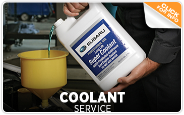 Find out more about Subaru coolant service from Kearny Mesa Subaru in San Diego, CA