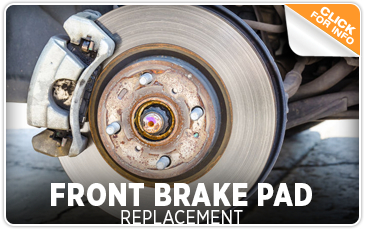 Subaru Front Brake Pad Replacement Service Information Serving San Diego, CA