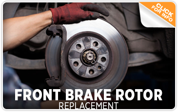 Subaru Front Brake Rotor Replacement Service Information Serving San Diego, CA