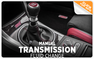 Click to learn more about Subaru manual transmission fluid change service performed by factory trained technicians at Kearny Mesa Subaru in San Diego, CA