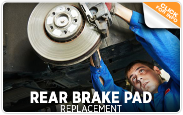 Subaru Rear Brake Pad Replacement Service Information Serving San Diego, CA