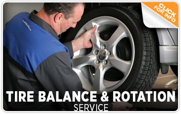 Click for Subaru Tire Balance & Rotation Service Information provided by Kearny Mesa Subaru's Service Center