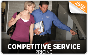 Subaru Competitive Service Pricing San Diego, CA