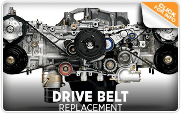 Subaru Drive Belt Replacement Service San Diego, CA