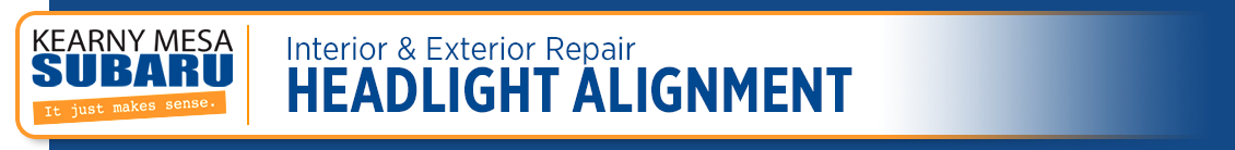 Subaru Precision Headlight Alignment Repair and Maintenance
