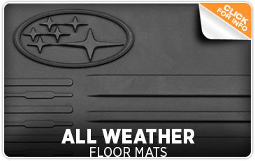 5f90b417c9f Click to learn more about genuine Subaru all-weather floor mats available  in San Diego ...