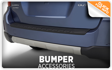 Click to view our Subaru bumper accessories information in San Diego, CA