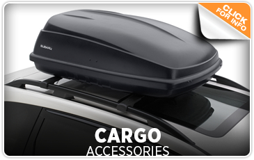 Click to view our Subaru cargo accessories parts information in San Diego, CA