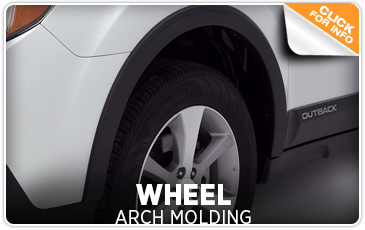 Click to learn more about genuine Subaru wheel arch moldings available in San Diego, CA