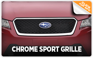 Click to learn more about our Subaru Chrome Sport Grille in San Diego, CA