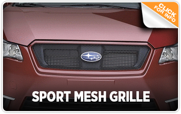 Click to learn more about our Subaru Sport Mesh Grille in San Diego, CA