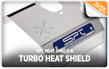 Click to learn more about our Subaru SPT Heat Shield & Turbo Heat Shield in San Diego, CA