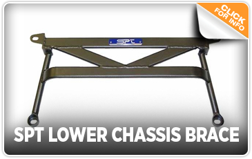 Click to learn more about our Subaru SPT Lower Chassis Brace in San Diego, CA