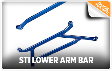 Click to View Our STI Lower Arm Bar Performance Parts Information at Kearny Mesa Subaru in San Diego, CA