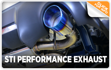 Click to research our STI Performance Exhaust System at Kearny Mesa Subaru in San Diego, CA