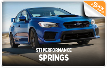 Click to research our STI Performance Springs at Kearny Mesa Subaru in San Diego, CA