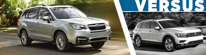 Compare 2018 Subaru Forester Vs 2018 Volkswagen Tiguan Suv