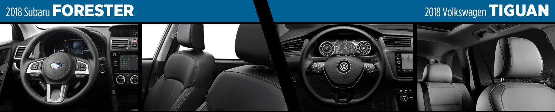 Compare 2018 Subaru Forester Vs 2018 Volkswagen Tiguan Suv Model