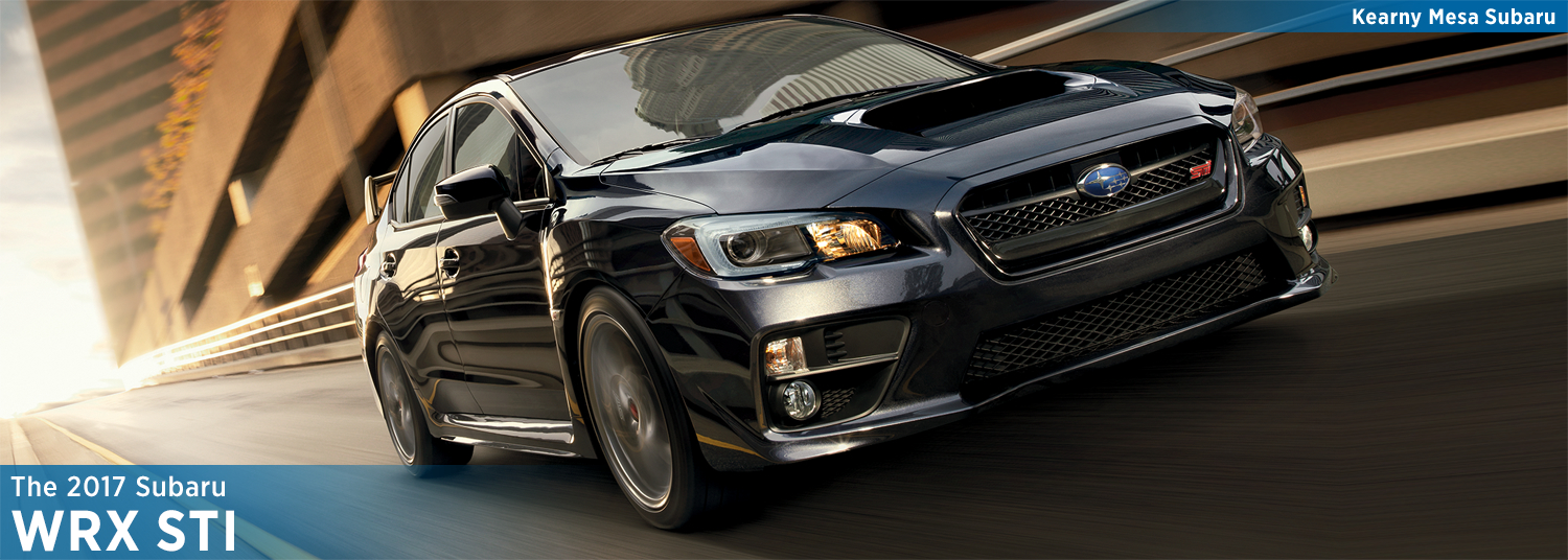 Research the 2017 Subaru CPO WRX STI model in San Diego, CA