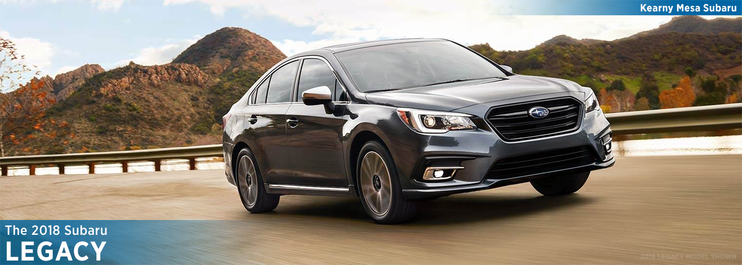 2018 Legacy Features & Details | Subaru Model Research ...