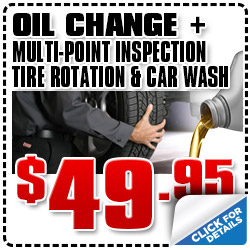San Diego Subaru Oil Change Plus Service Special serving California