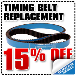 Subaru Timing Belt Replacement Service Special serving San Diego & Kearny Mesa, California