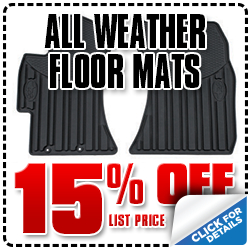 Subaru All-Weather Floor Mats Parts Coupon Special San Diego, CA - Click for more details!