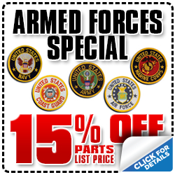 Subaru Armed Forces Parts Coupon Special San Diego, CA - Click for more details!