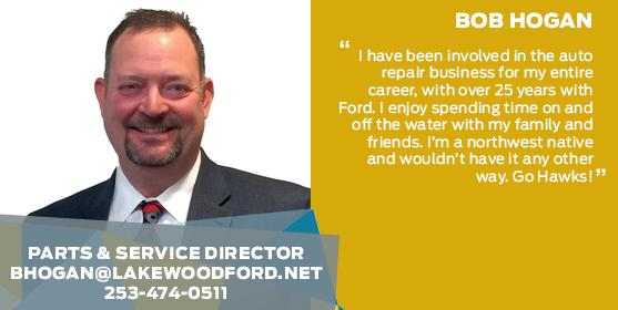 Bob Hogan - Parts & Service Director
