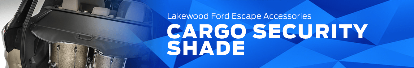 Escape Cargo Security Shade Accessory Information at Lakewood Ford