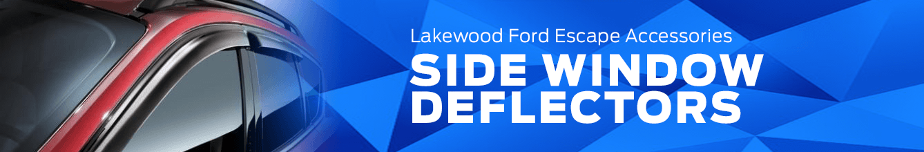 Escape Side Window Deflectors Accessory Information at Lakewood Ford