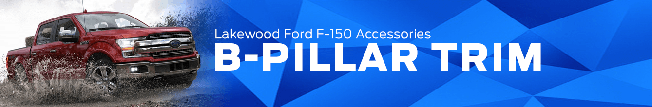 F-150 B-Pillar Trim Accessory Information at Lakewood Ford