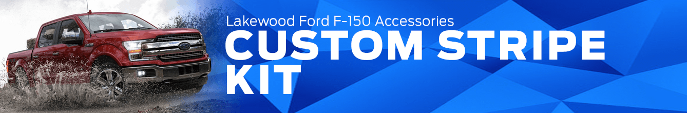 F-150 Custom Stripe Kit Accessory Information at Lakewood Ford