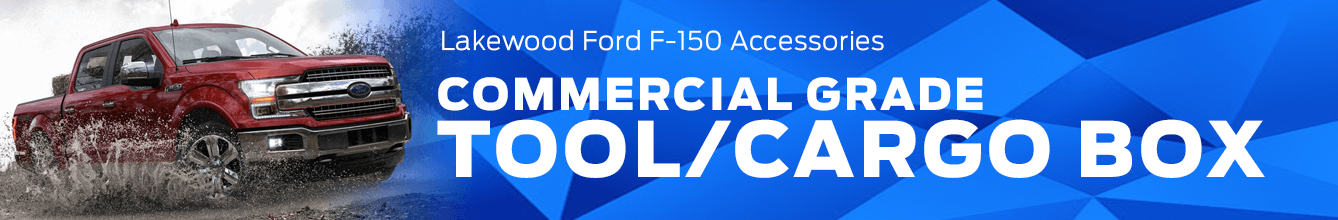 F-150 Commercial-Grade Tool/Cargo Box Accessory Information at Lakewood Ford